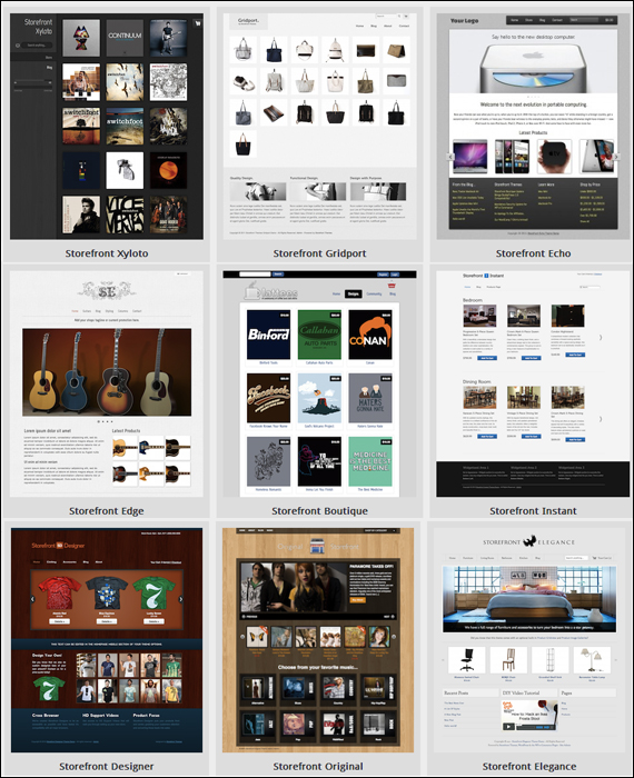 StoreFront Themes For WP