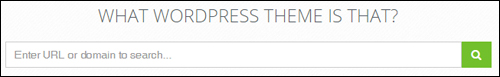 What WordPress Theme Is That.com