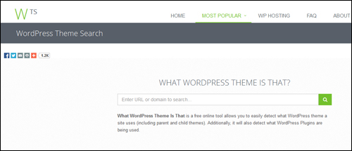What WP Theme Is That?